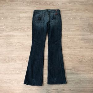 7 For All Mankind A Pocket Jeans Bootcut Dark 29